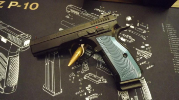 CZ 75 SP-01 Shadow 2 Blau