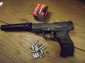 Umarex - Walther PPQ Navy 9 mm P.A.K.,